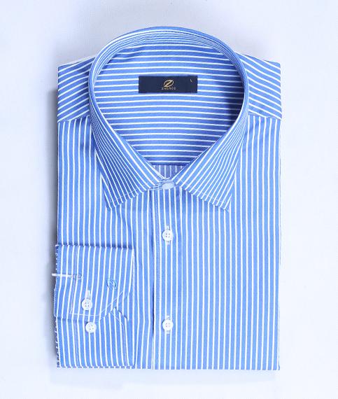 پیراهن کلاسیک آبی