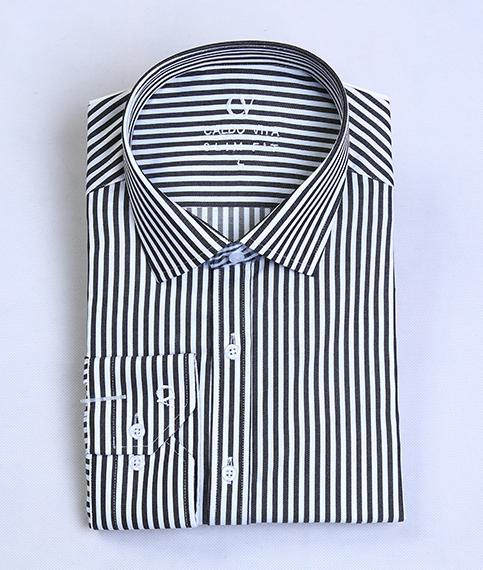 پیراهن مردانه سفید مشکی