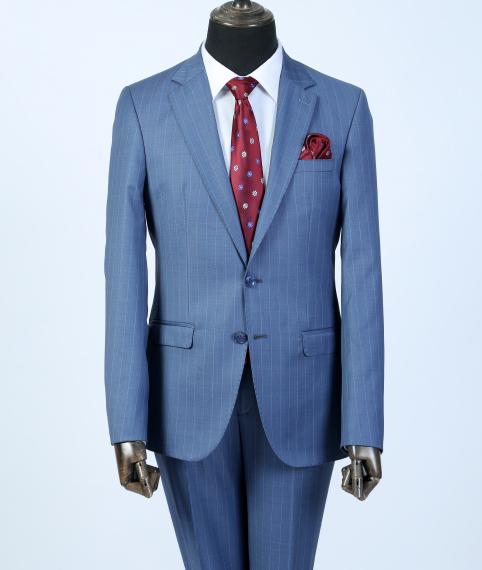 کت شلوار مردانه آبی