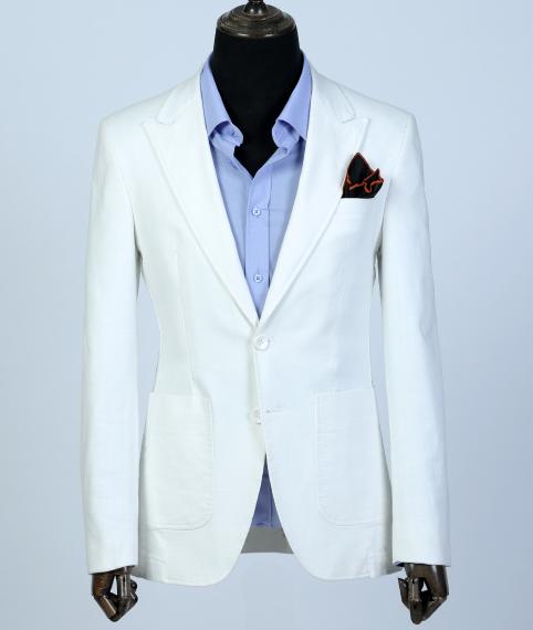 کت تک سفید