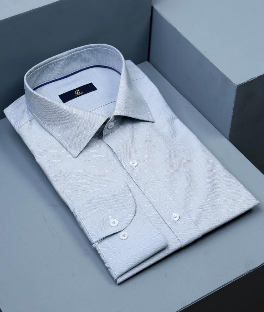 پیراهن طوسی مردانه