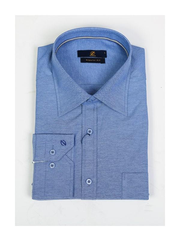 پیراهن آبی سفید