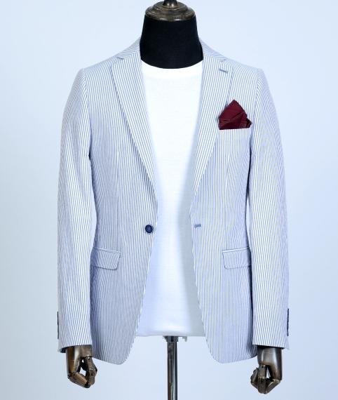 کت تک سفید سرمهای