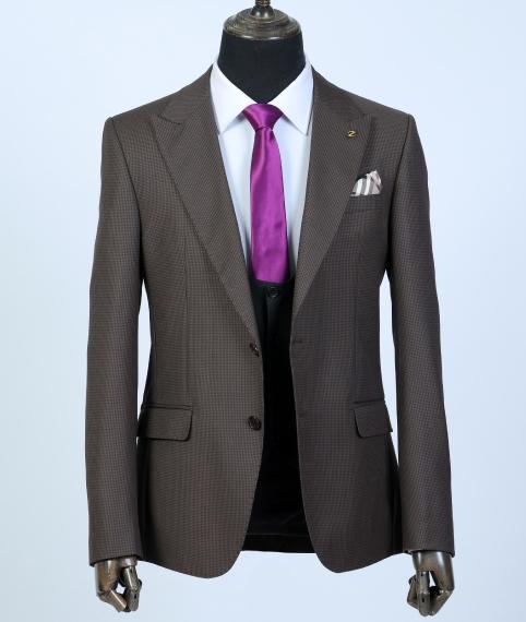 کت تک با ژیله قهوهای