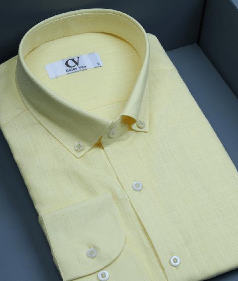 پیراهن مردانه زرد