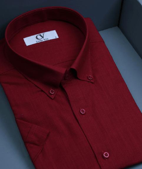 پیراهن قرمز مردانه