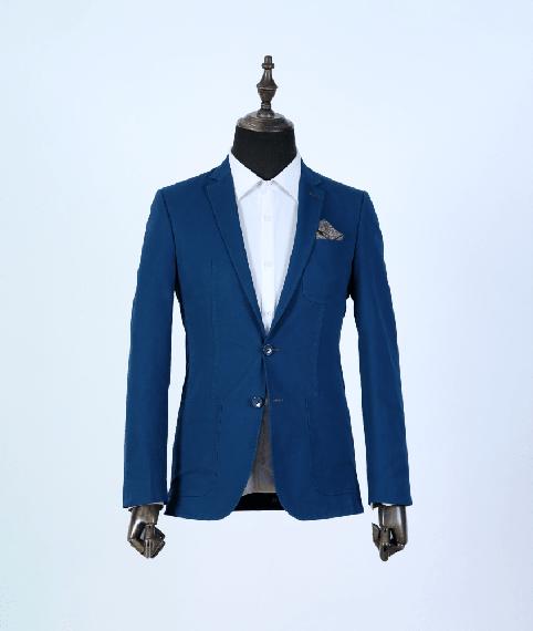 کت تک آبی تیره