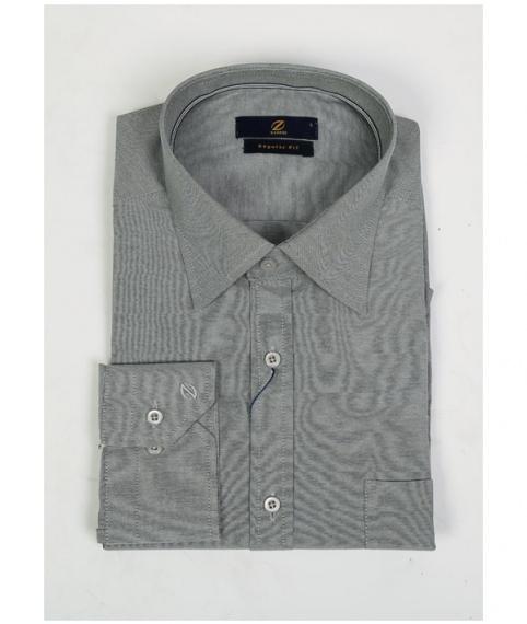 پیراهن مردانه طوسی