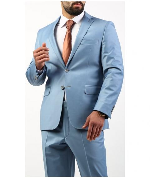 کت و شلوار مردانه آبی