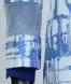مانتو آبی زنانه زاگرس 185502270 3