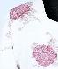 مانتو سفید گلدار  1