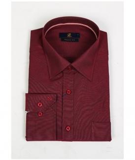پیراهن مردانه زرشکی