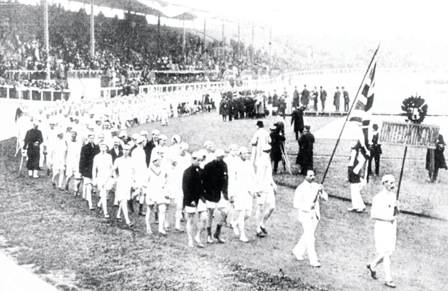 اولین رژه المپیک